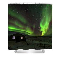 Aurora Storm Shower Curtain