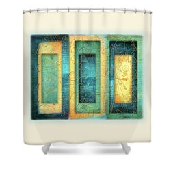 Aurora's Vision Shower Curtain by Deborah Smith