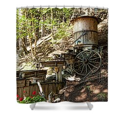 Ausable River Mining Company Shower Curtain