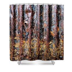 Aussie Galvanised Iron #12 Shower Curtain