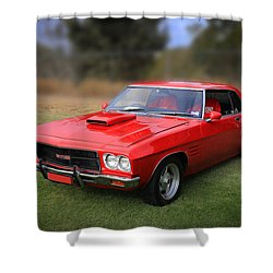 Shower Curtain featuring the photograph Aussie Muscle by Keith Hawley