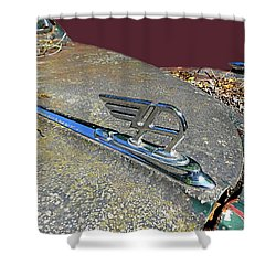 Austin A40 Somerset Flying A Shower Curtain