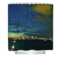 Austin At Dusk Shower Curtain