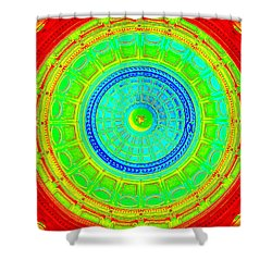 Austin Dome - C Shower Curtain