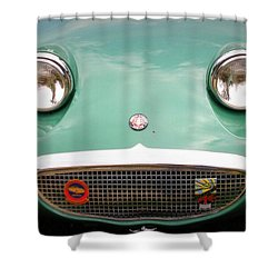 Austin Healey Sprite Shower Curtain