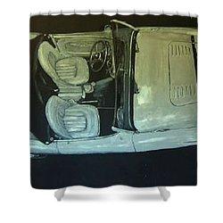 Austin Healy Lm Shower Curtain