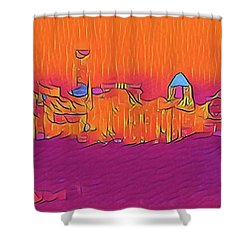 Austin Skyline Electric Shower Curtain