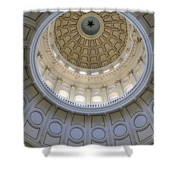 Austin State Capitol Dome Shower Curtain