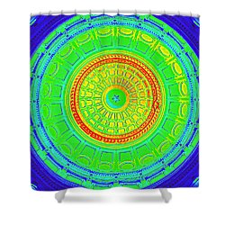 Austin Dome - B Shower Curtain