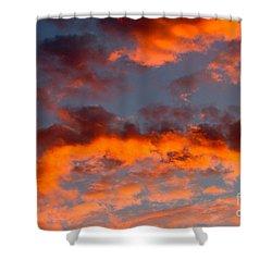 Australian Sunset Shower Curtain by Louise Heusinkveld