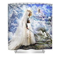 Authority Over Darkness Shower Curtain