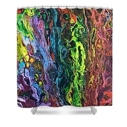 Auto Body Paint Technician  Shower Curtain
