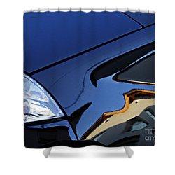 Auto Headlight 192 Shower Curtain by Sarah Loft