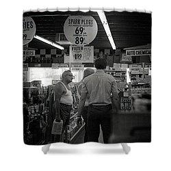 Auto-parts Store, 1972 Shower Curtain