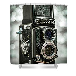 Shower Curtain featuring the photograph Autocord by Keith Hawley
