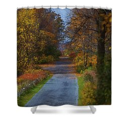 Autumn Wanderings Shower Curtain