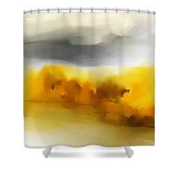 Autumn Along The River Shower Curtain