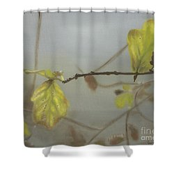 Autumn Shower Curtain by Annemeet Hasidi- van der Leij