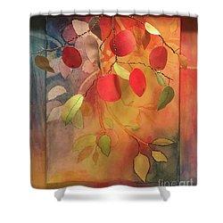 Autumn Apples 3d Shower Curtain