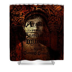 Autumn Aradia Witches Gospel Shower Curtain by Rebecca Sherman