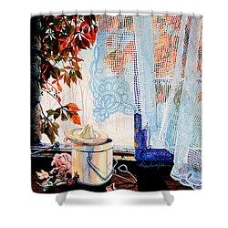 Autumn Aromas Shower Curtain by Hanne Lore Koehler