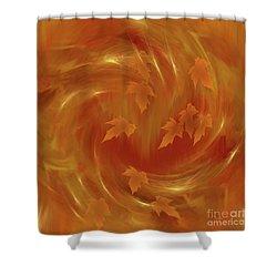 Autumn Art - Autumn Rhapsody By Rgiada Shower Curtain