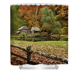 Autumn At Cuttalossa Farm V Shower Curtain