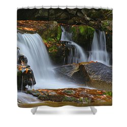 Autumn At Jackson Falls Shower Curtain
