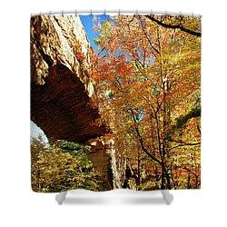 Autumn At Natural Bridge State Resort Shower Curtain