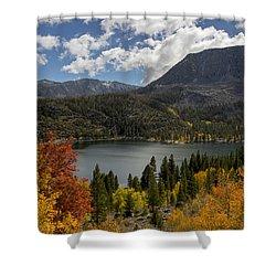 Autumn At Rock Creek Lake Shower Curtain