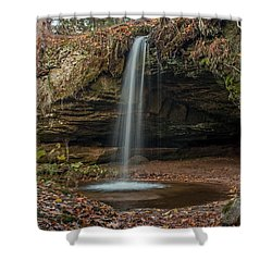 Autumn At Scott Falls Shower Curtain