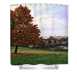 Autumn At Stirling Bridge Shower Curtain