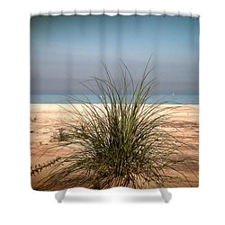 Autumn Beach Shower Curtain