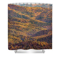 Autumn Blanket Shower Curtain