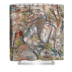 Autumn Breeze Shower Curtain by Trish Toro