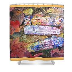 Autumn Corn Shower Curtain