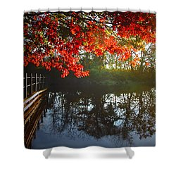 Autumn Creek Magic Shower Curtain
