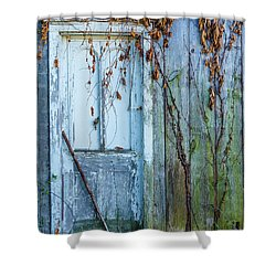 Autumn Door Shower Curtain