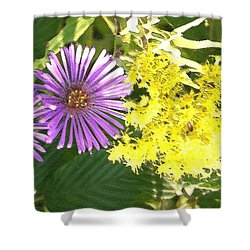 Autumn Duo Shower Curtain