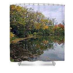 Autumn Fantasy Shower Curtain