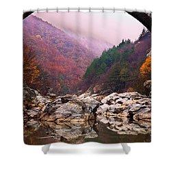 Autumn Gate Shower Curtain