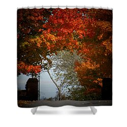 Autumn Gate Shower Curtain