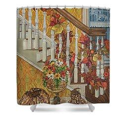 Autumn Hues Shower Curtain by Bonnie Siracusa