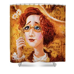 Shower Curtain featuring the painting Autumn by Igor Postash