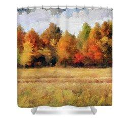 Autumn Impression 1 Shower Curtain