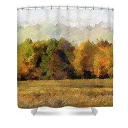Autumn Impression 4 Shower Curtain