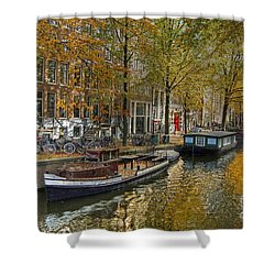 Autumn In Amsterdam Shower Curtain