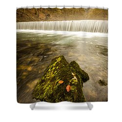 Shower Curtain featuring the photograph Autumn In Croatia by Davorin Mance