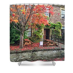 Autumn In Dunblane Shower Curtain