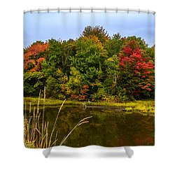 Autumn In Mabou Shower Curtain